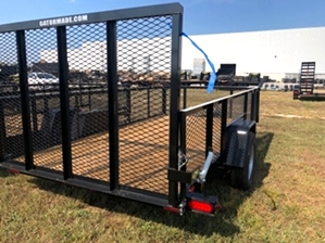 Utility Trailer With Tall Sides 6x12