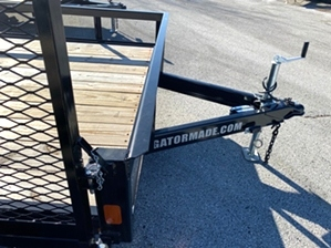 Utility Trailer With Side Gate 16ft