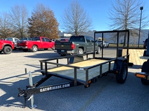 Utility Trailer 5x10 By Gator  Utility Trailer 5x10 By Gator. 2.9k single axle landscape trailer with tailgate.