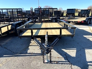 Utility Trailer 14ft Dual Axle Utility Trailer 14ft Dual Axle. 14ft 7k with tailgate.