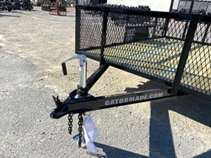Utility Trailer 6x10 With Mesh Sides