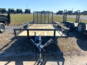 Utility Trailer With Mag Wheels