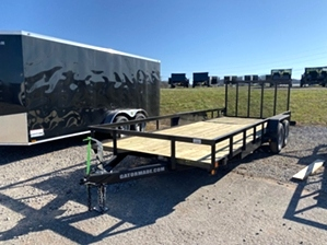Utility Trailer 20ft 7000 GVWR Utility Trailer 20ft 7000 GVWR. Landscape trailer with tailgate and gator spring assist.