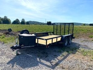 Utility Trailer 16ft  Utility Trailer 16ft. 16ft tandem utility with spare tire and mounted tool box