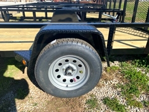 Utility Trailer 2.9k Utility Trailer 2.9k. Single axle 12ft utility trailer